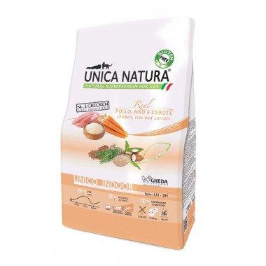 Gheda Unica Natura Indoor poulet pour chat de tout âge