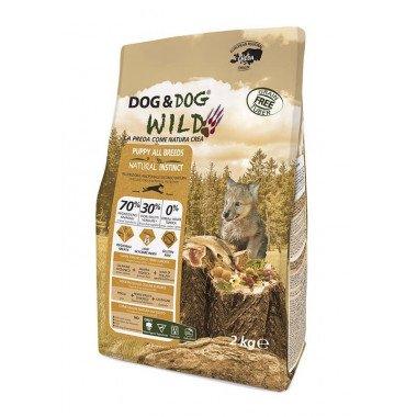 GHEDA Dog&Dog Wild Natural Instinct pour Chiots de...