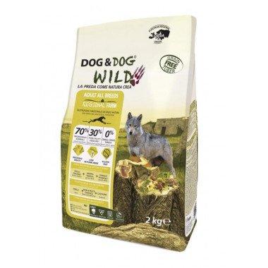 GHEDA Dog&Dog Wild Regional Farm pour Chiens Adultes...
