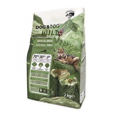 GHEDA Dog&Dog Wild Regional Forest pour Chiens...