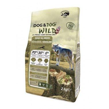 GHEDA Dog&Dog Wild Regional Grassland pour Chiens...