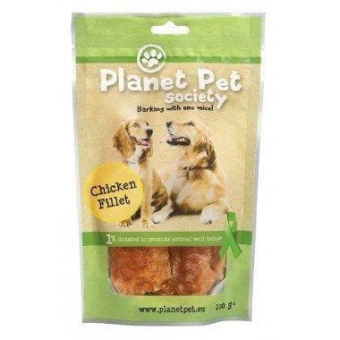 Planet Pet Society friandise filets de poulet pour...