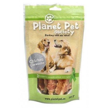 Planet Pet Society friandise os au poulet pour chien