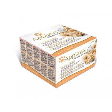 Applaws multipack boîtes 12x70gr pour chat adulte -...