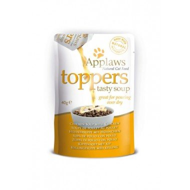 Applaws toppers (soupe) 3x40gr pour chat adulte - 3...