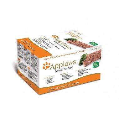 Applaws multipack pâtées 7x100gr pour chat adulte -...