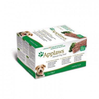 Applaws multipack pâtées 5x150gr pour chien adulte -...