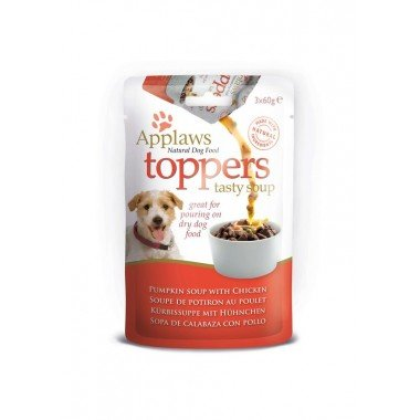 Applaws toppers (soupe) 3x60gr pour chien adulte - 2...