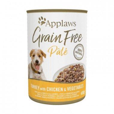 Applaws boîtes de 400gr de pâtée pour chien adulte -...