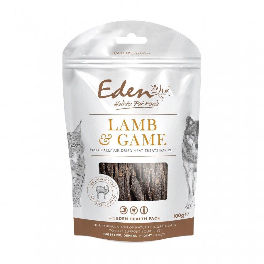 Eden friandises naturelles agneau & gibier (chiens et chats) 100gr
