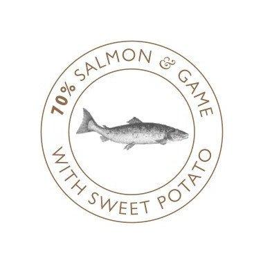 Eden friandises naturelles saumon & gibier (chiens et chats) logo