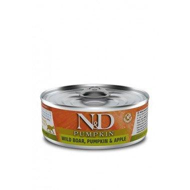N&D Potiron humide sanglier, pomme, potiron (chat)