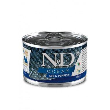 N&D Océan humide morue, potiron (chiot mini)