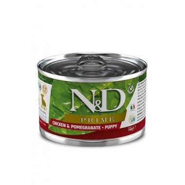 N&D Prime humide poulet, grenade (chiot mini)