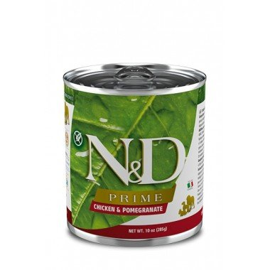 N&D Prime humide poulet, grenade (adulte)