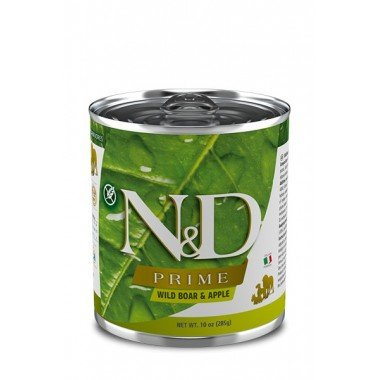 N&D Prime humide sanglier pomme (adulte)