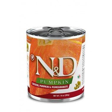 N&D Potiron humide poulet, grenade, potiron (adulte)