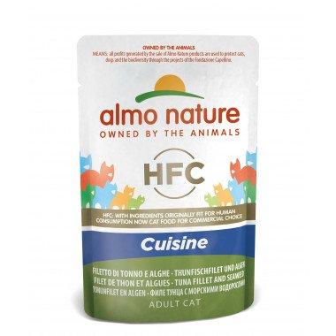 Almo Nature Thon Algues HFC Cuisine Pochon 55g