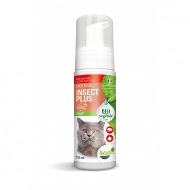 MOUSSE INSECT CHAT 140ml