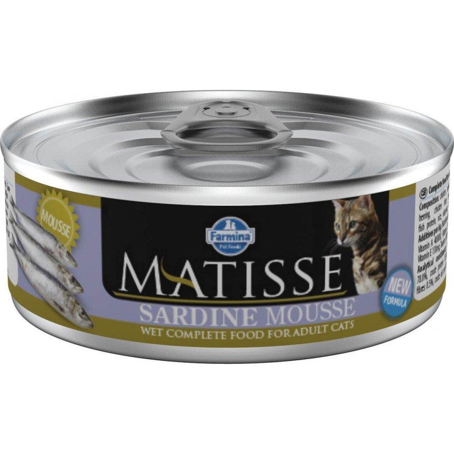 Matisse mousse à la sardine (chat)
