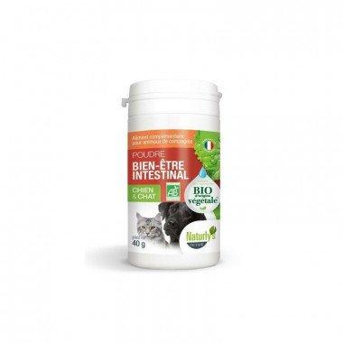 Naturaly's Poudre Bien-être Intestinal pour chien et chat