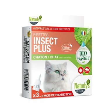 Naturly's Pipettes Insect Plus