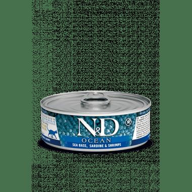 N&D Océan humide bar, sardine, crevette (chat)