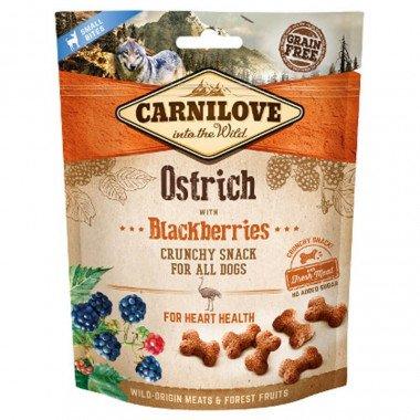 Carnilove friandise Crunchy Autruche pour chien