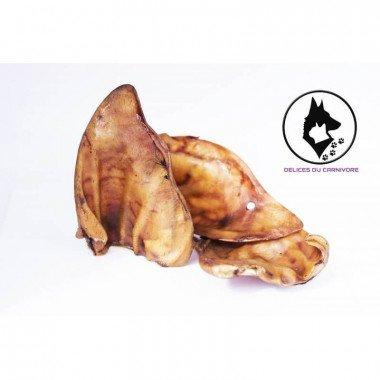 friandise naturelle oreilles de porc Ibérique