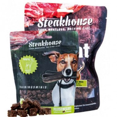 Meatlove - Friandise viande de cerf séchée pour chien