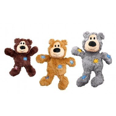 Peluche ours corde kong